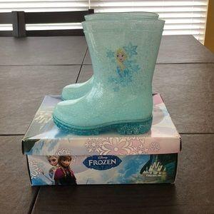 Toddler Frozen Rain Boots - Blue